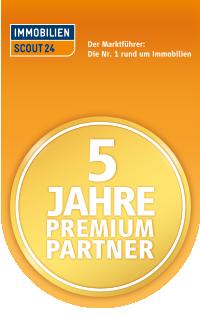5 Jahre Premium-Partner von Immobilien-Scout