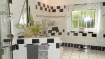 Dusch-Wannenbad mit Bidet